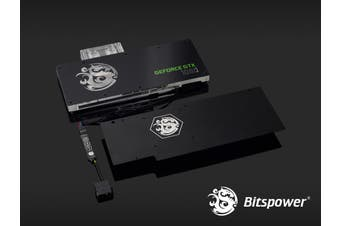 Bitspower Nvidia GTX 1080 Reference Acrylic V1 (Clear) [BP-WBV1080RDV1]