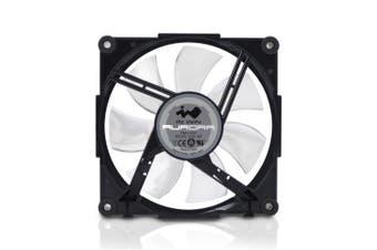 Inwin Aurora RGB Fan - Black/White [RGBFAN-BLKWTE-1PK]