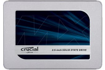 "Crucial MX500 250GB 2.5"" 3D NAND SATA Internal SSD [CT250MX500SSD1]"