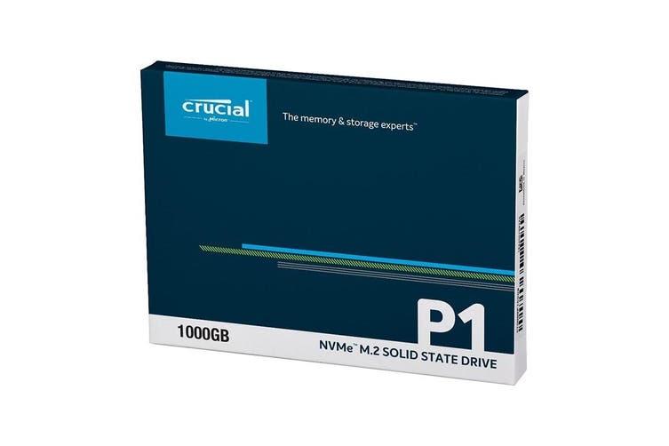Crucial P1 1TB SSD, NVMe M.2 2280 PCIe 3D NAND [CT1000P1SSD8]
