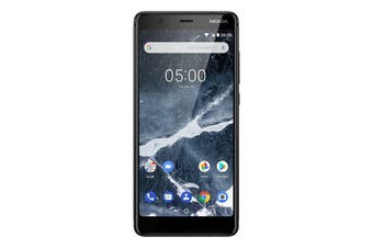 """Nokia 5.1 (5.5"""", 16MP, Android One) - Black [NOK51BLK]"""