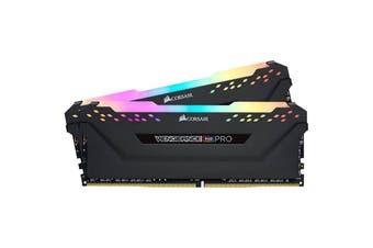 Corsair Vengeance RGB PRO 32GB (2x16) DDR4-3200 DIMM RAM Memory [CMW32GX4M2C3200C16]