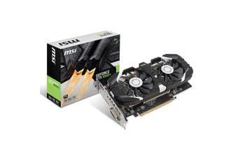 MSI GeForce GTX 1050 Ti 4GT OC V1 Nvidia Video Card [GTX 1050 Ti 4GT OCV1]