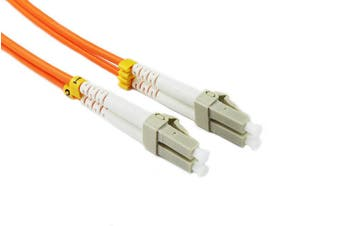 Konix 1.5M LC-LC OM1 62.5/125 Multimode Duplex Fibre Patch Cable