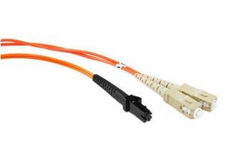 Konix 3M MTRJ-SC OM1 62.5/125 Multimode Duplex Fibre Patch Cable