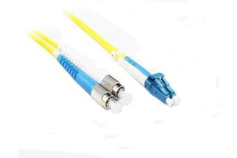 3M FC-LC OS1/OS2 9/125 Singlemode Duplex Fibre Patch Cable [FS-FC-LC03]