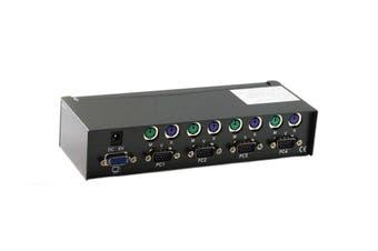 4 Port PS/2 KVM Switch [KVM-MPC4051]