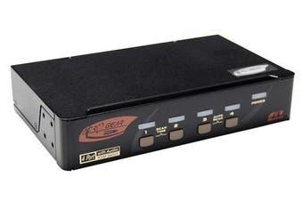Rextron 4 Port Displayport + USB  KVM Switch [KVM-PAAG114]