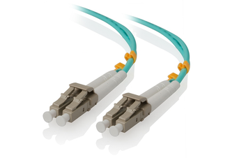 Alogic 1m LC-LC 10G Multi Mode Duplex LSZH Fibre Cable 50/125 OM3