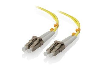 Alogic 1.5m LC-LC Single Mode Duplex LSZH Fibre Cable 09/125 OS2