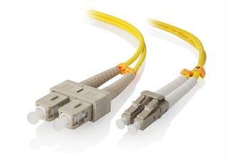Alogic 1.5m LC-SC Single Mode Duplex LSZH Fibre Cable 09/125 OS2
