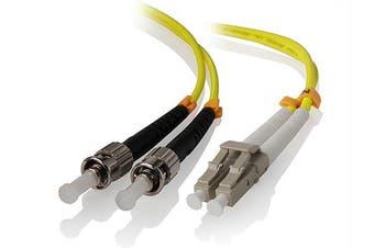 Alogic 1m LC-ST Single Mode Duplex LSZH Fibre Cable 09/125 OS1