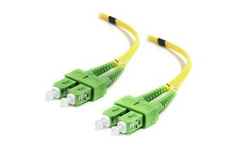 Alogic 1m SCA-SCA Single Mode Duplex LSZH Fibre Cable 09/125 OS2