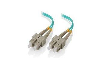 Alogic 1m SC-SC 40G/100G Multimode Duplex LSZH Fibre Cable 50/125 OM4