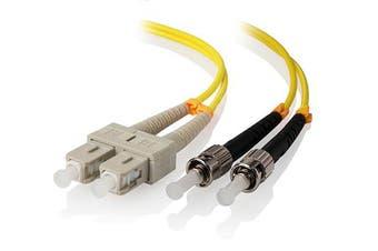 Alogic 1m SC-ST Single Mode Duplex LSZH Fibre Cable 09/125 OS2