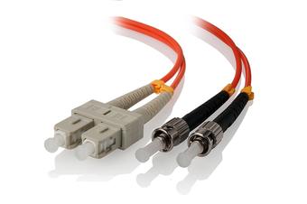 Alogic 2m SC-ST Multi Mode Duplex LSZH Fibre Cable 62.5/125 OM1