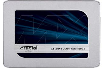 "Crucial MX500 500GB 2.5"" 3D NAND SATA Internal SSD [CT500MX500SSD1]"