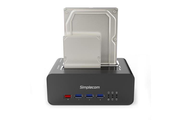 Simplecom SD352 USB 3.0 to Dual SATA HDD Aluminium Docking Station