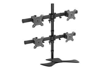 Vision Mounts Four Screen Adjustable Desk Bracket [LCD-MP340S]