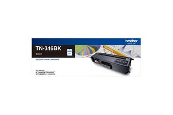 Brother TN-346BK High Yield Black Toner Cartridge