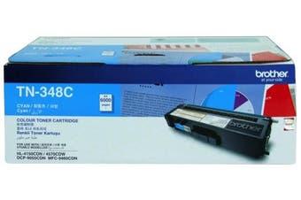 Brother TN-348C Colour Laser Toner Cartridge