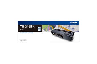 Brother TN-349BK Super High Yield Black Toner Cartridge