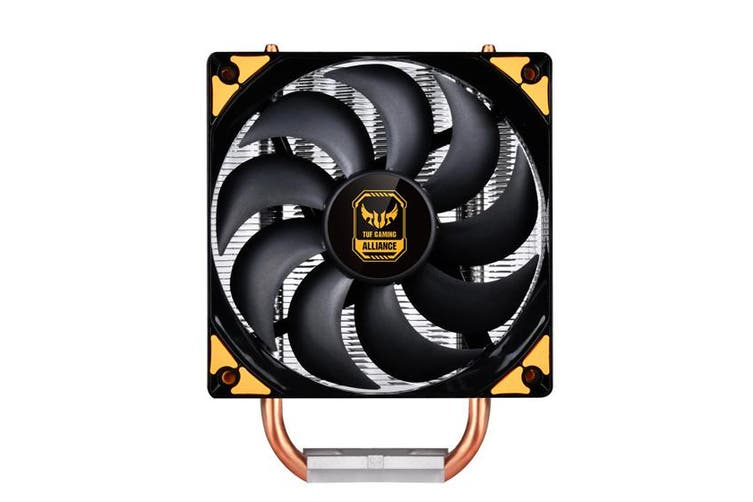 SilverStone Argon AR01 V3 CPU Cooler, 8mm Heat-Pipes, ASUS TUF Gaming Alliance