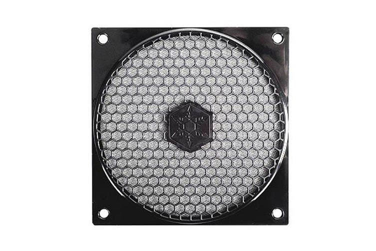 SilverStone FF121B 120mm Fan Grille And Filter Kit
