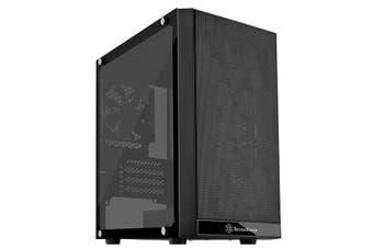 SilverStone Precision PS15 Black Micro ATX Case, T/G Window