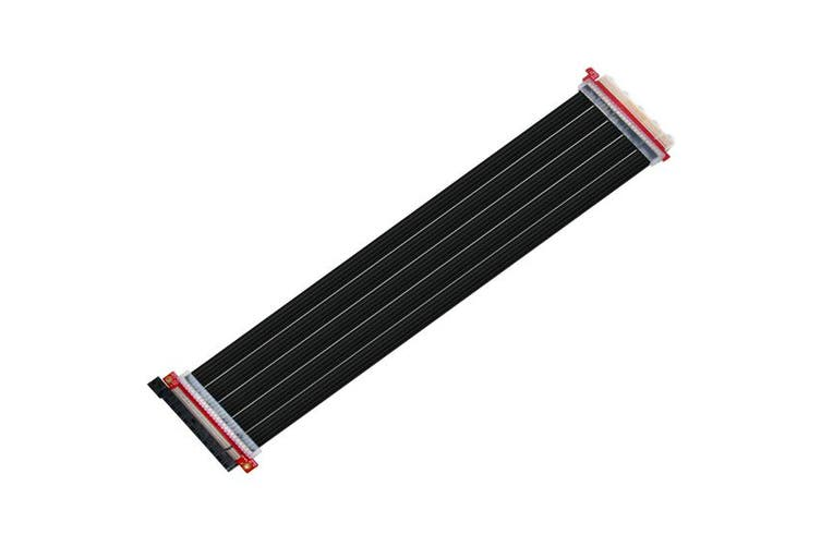 SilverStone RC04B-400 Flex PCI-E x16 Riser Cable, 400mm