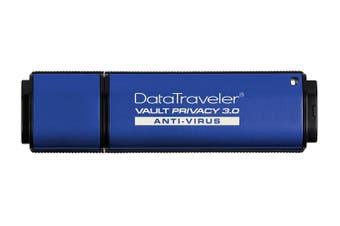 Kingston DataTraveler Vault Privacy 3.0 ESET USB Flash Drive [DTVP30AV/16GB]
