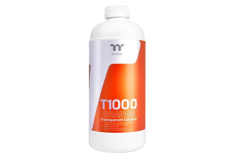Thermaltake T1000 Orange /DIY LCS/Transparent Coolant