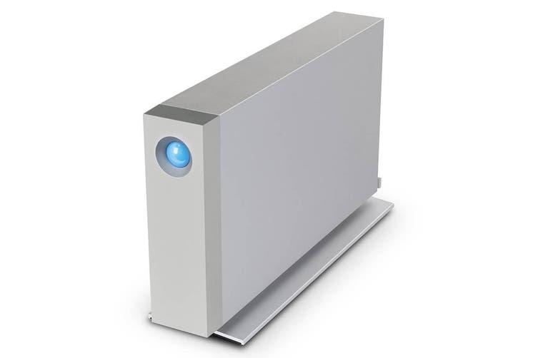 LaCie D2 10TB Thunderbolt 3 & USB-C 3.1 Desktop External Hard Drive