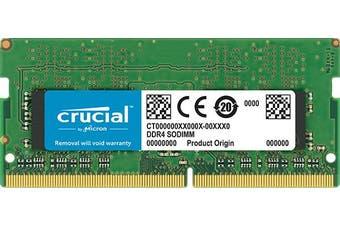 Crucial 16GB (1x16) DDR4-2666 SODIMM RAM Memory [CT16G4SFD8266]