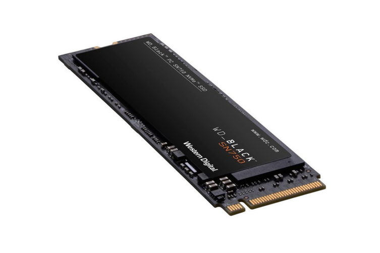 WD Black SN750 500GB NVMe M.2 (2280) PCIe 3x4 3D NAND SSD - without heatsink