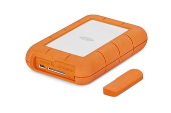 "LaCie Rugged Raid PRO 2.5"" USB Type-C Portable Hard Drive - 4TB"