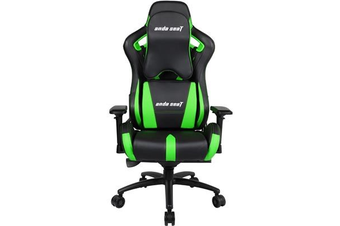 Anda Seat AD12XL-03 Extra Large Gaming Chair - Black/Green
