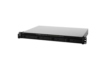 Synology RackStation RS819 4-Bay Scalable Diskless NAS - Quad-Core 1.4GHz CPU