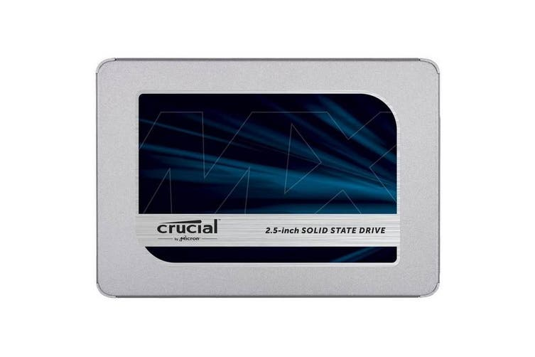 "Crucial MX500 1TB 2.5"" 3D NAND SATA III SSD With 9.5mm Adapter [CT1000MX500SSD1]"