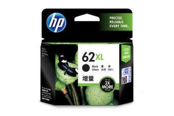 HP 62XL Black Ink Cartridge 600 Pages