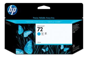 HP 72 Ink Cartridge, Cyan