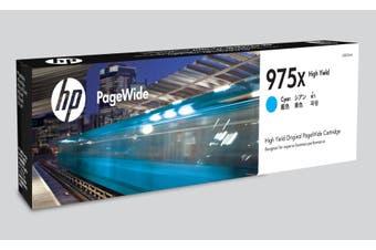 HP 975X Ink Cartridge, Cyan