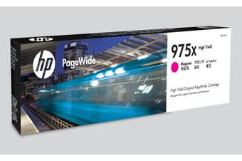 HP 975X Ink Cartridge, Magenta