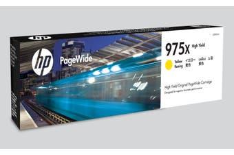 HP 975X Ink Cartridge, Yellow