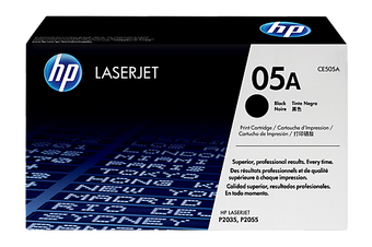 HP 05A Black Toner 2,300 Page Yield