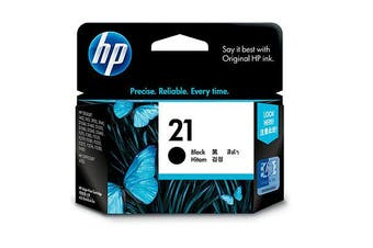 HP 21 Black Ink 190 Page Yield [C9351AA]
