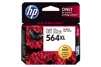 HP 564Xl Photo Black Ink 290 Photo Yield