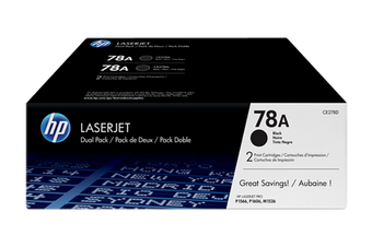 HP 78A Black Dual Pack Toner Cartridge