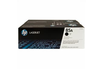 HP 85A Black Dual Pack Toner Cartridge