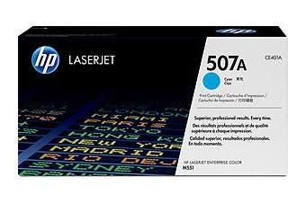 HP 507A Cyan Toner 6,000 Page Yield